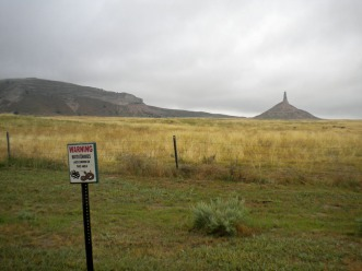 Chimney Rock in Nebraska