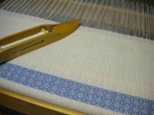 Point Twill Napkins on the Loom