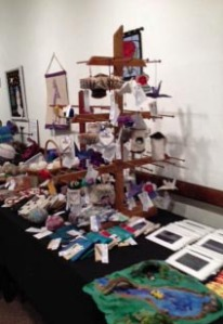 Ornaments, Cards, and Felted Playset at the 2014 HES