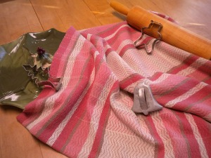 Kitchen Towel in Cotton and Linen
