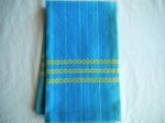 Blue Blend Cotton Towel