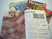 Double weave articles abound in Weaver's and Handwoven.