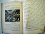 1917 Textiles book with notes