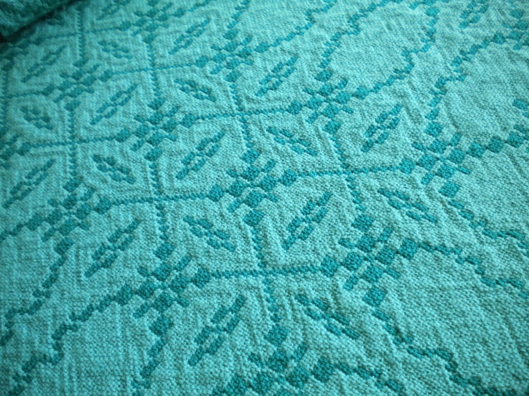Detail Emerald and Jade Doubleweave Placemats