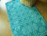 Doubleweave Runner in Emerald and Jade