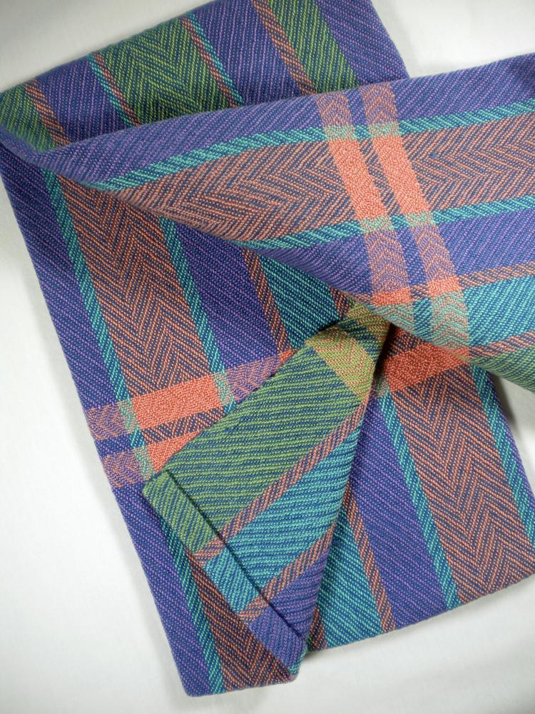 Kitchen Towel Stripes and Denim