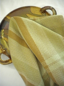 Kitchen Towel in Naturally Colored Cotton