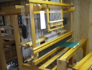 The draw loom with damask project