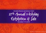 2016 Holiday Exhibition and Sale Postcard