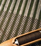 Wool Blanket on the Loom