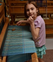 A turn at the loom