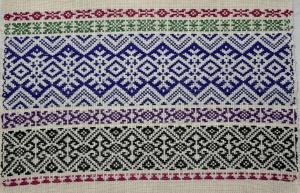 Opphämta borders on 10 patterns shafts