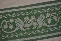 Damask with Pattern-Saving Lashes, back